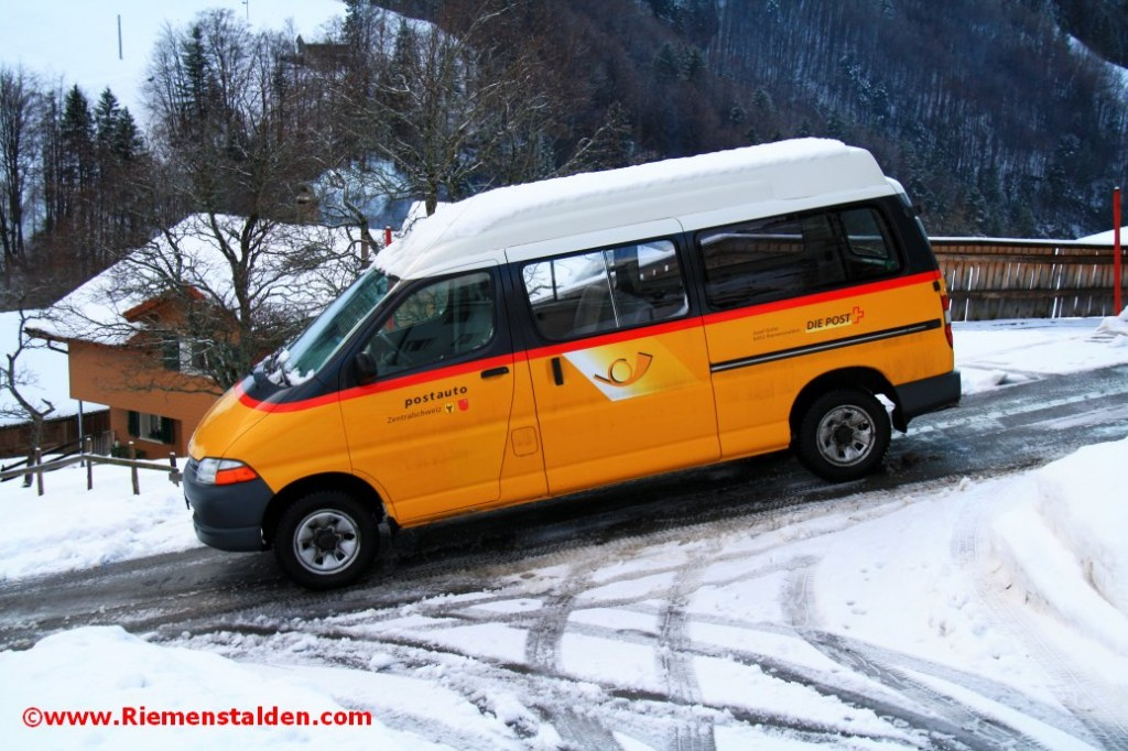 Postauto Transport Sisikon Riemenstalden